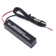 Stereo Radio AM FM Hidden Amplified Antenna 12v Universal For Auto Car Truck Vehicle Parts