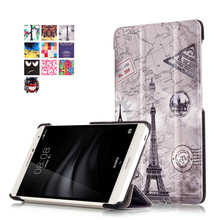 PU Leather-based Stand Cowl Case for Huawei Mediapad T2 7.zero Professional PLE-703L PLE 703L Pill + 2Pcs Display screen Protector