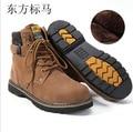 Livre o Navio! novo 2014 100% Marca do Homem Botas de Inverno moda botas de neve quente dos homens botas casuais botas de lã homem sapatos!