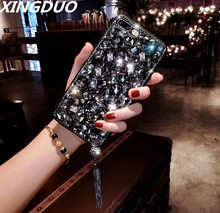XINGDUO For Huawei P9 P10 P20 P30 PRO/Mate9 10 20 Pro lite Luxury Glitter Back Cover Crystal Bling Diamond rhinestone Phone case