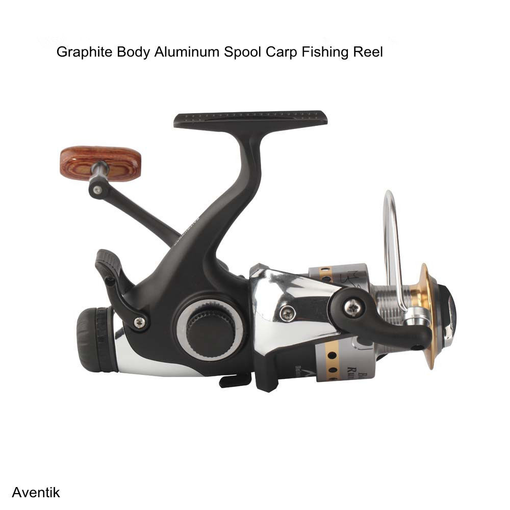 Aventik Graphite Body Aluminum Spool Carp Fishing Reel Bait Runner 9+1 BB Carp Fishing Bait Runner Reel Spinning New чехол для для мобильных телефонов axd samsung i8552 8552 gt i8552