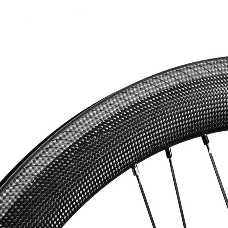 18/21 G3 20/24 3D Nouveau Texturé Piste De Freinage 38/45/50mm Vélo De Route Vélo roues en carbone Droite Tirez hub Vélo 700C Vélo De Route