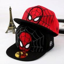 Casquette de baseball Super Hero pour enfants, chapeau de soleil pour garçons et filles, style hip hop, nouvelle collection 2021