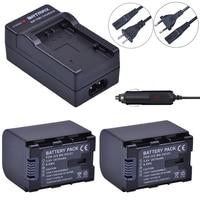2Pcs 2670mAh BN VG121,VG121U,VG121US Battery + Wall Charger Kits for JVC Everio GZ E Series BN VG138 BN VG107U VG114 Camcorders