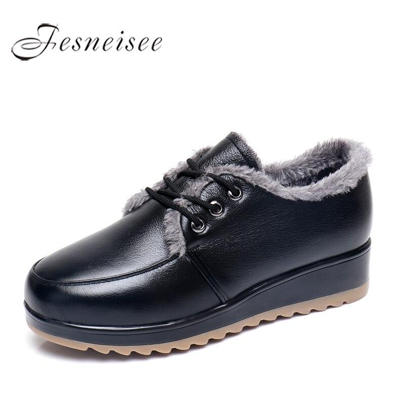 2017 Winter Woman boots Shoes Snow Boots Plush Lady's Trend Cotton-padded Shoes Auto Lady Warm Shoes Women Plus Size 42 43 M4.0