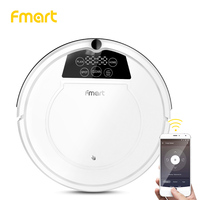 Fmart E R550W(S) Robot Vacuum Cleaner with APP Control Power Suction Auto Charge for Hard Floor Pet Hair Vacuum Cleaner for Home