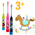 HOT!Children Electric Massage Ultrasonic Toothbrush Teeth Care Oral Hygiene Cartoon Tooth Brush Electric Toothbrush For Children