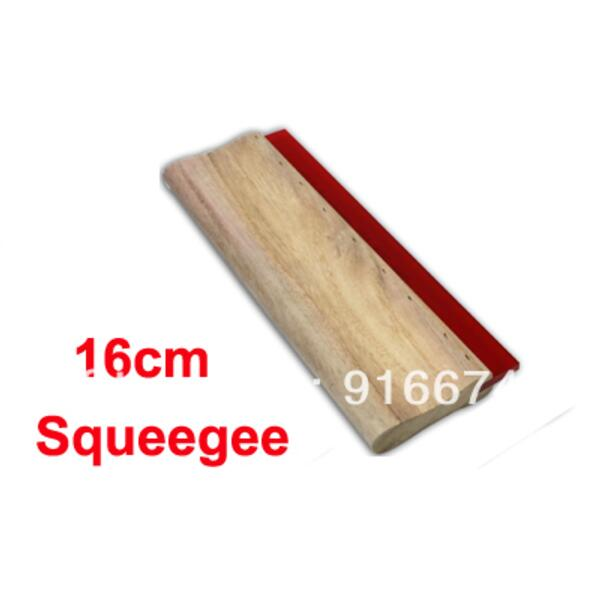 Cheap 1pc 16cm Silk Screen Printing Squeegee 6.3inch Ink Scaper Tools Materials free shipping discount cheap 2 pcs silk screen printing squeegee 24cm 33cm 9 4 13inch ink scaper tools materials