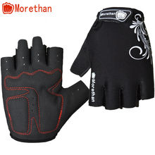 Heated Morethan Brand Flexible cycle gloves road half finger