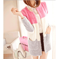 Wholesale Winter Spring Cardigans Women Fashion Mohair Cardigans Casual Tricotado Long Cardigan Women Sweaters For Ladies