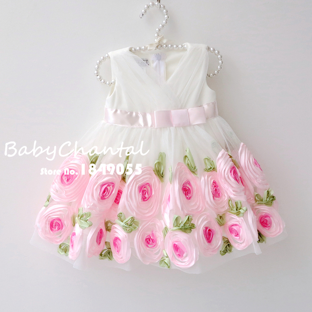 Kids Party Wear Dresses For Girls Toddler Girl Flower Dress ...