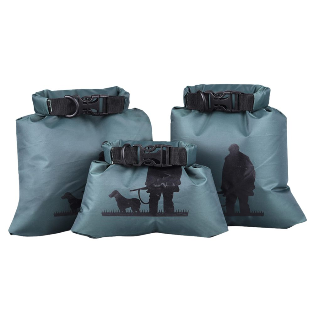 LUCKSTONE Outdoor waterproof bag 3-Size Set rafting upstream Creek packing bag lightweight waterproof compression swimming bag