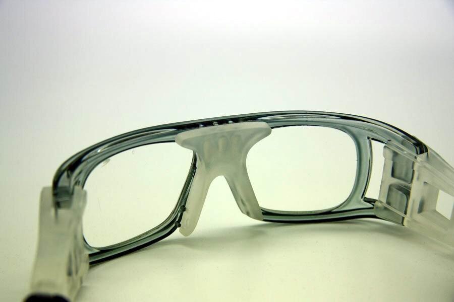 Basketbalbril voor heren, damesbril met doorzichtige lens, - Team sporten - Foto 4