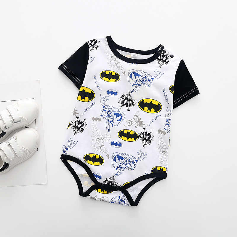 fcfd39e07 Superman Summer Baby Rompers Newborn Baby Boy Girl Romper Short sleeve  Jumpsuit Clothes Baby Clothes Cotton Outfits 0-18M