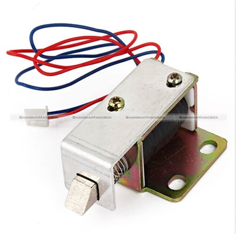 Buy 1 pc cabinet door electric lock for 12v door latch
