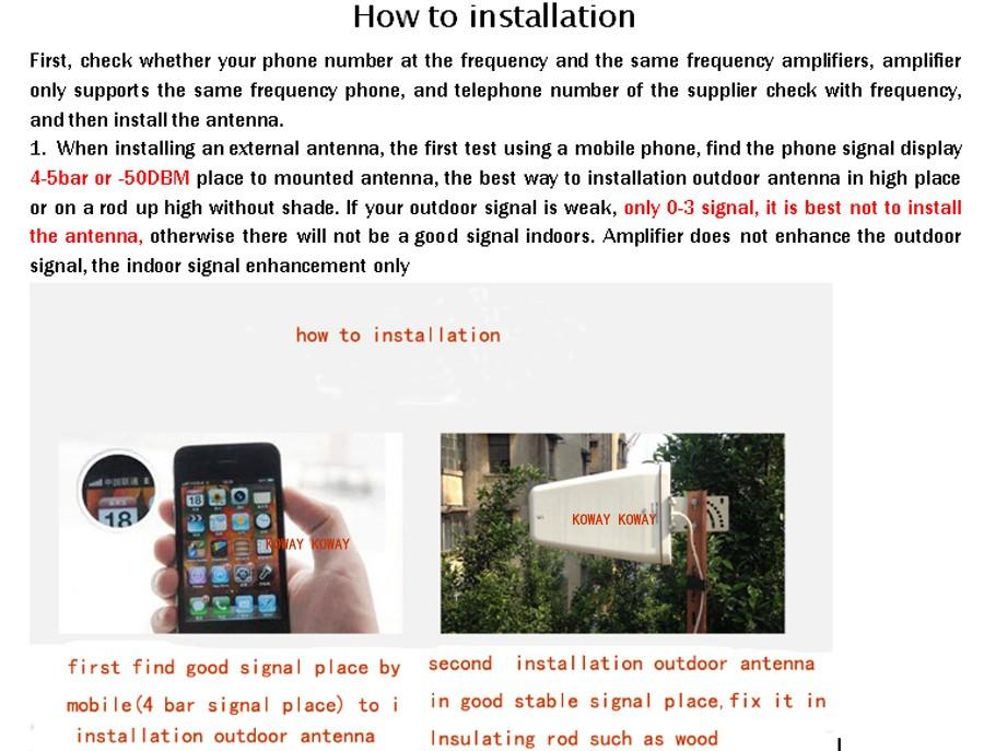 how to installation 01 panel KOWAY