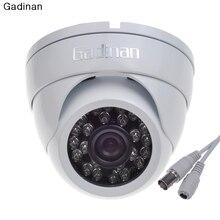 Gadinan Analong Metal 24 IR Infrared 1000TVL CMOS Day & Night Security Camera 2.8mm Wide Lens Waterproof Outdoor CCTV Camera