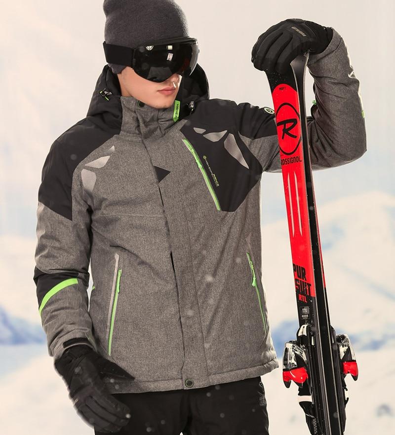 Hiver Hommes de Ski Costume Hommes Sport Costume Jeu de Snowboard Hommes D'hiver Imperméables veste Hommes Hommes Pantalon de Snowboard Veste ski Pantalon