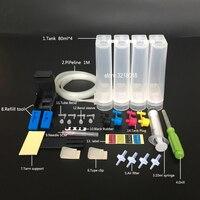 CISS HP 27 28 için DIY CISS için HP 56 57 matkap ve Emme aracı ve tüm aksesuarları ile