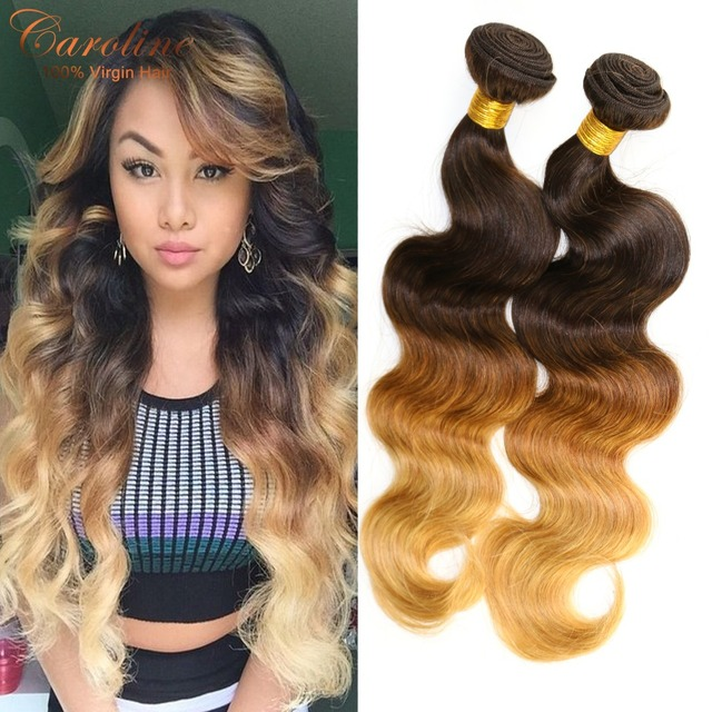 Rosa hair products peruvian virgin hair ombre human hair weave 3 rosa hair products peruvian virgin hair ombre human hair weave 3 tone color t430 pmusecretfo Image collections