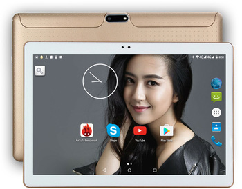 """DHL Free 10 Inch Tablet PC 3G  Octa Core 4GB RAM 64GB ROM Dual SIM 5.0MP Android 7.0 GPS 1280*800 IPS Tablet PC 10""""+gifts"""