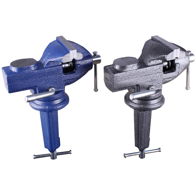 High Quality Cast Iron 360 Degree Rotary Table Bench Vice 65mm with Anvil Workbench Vise Clamp Tool for Woodworking high quality vise clamp table bench vice for jewelry grinding drilling diy carving tool carving clip flat