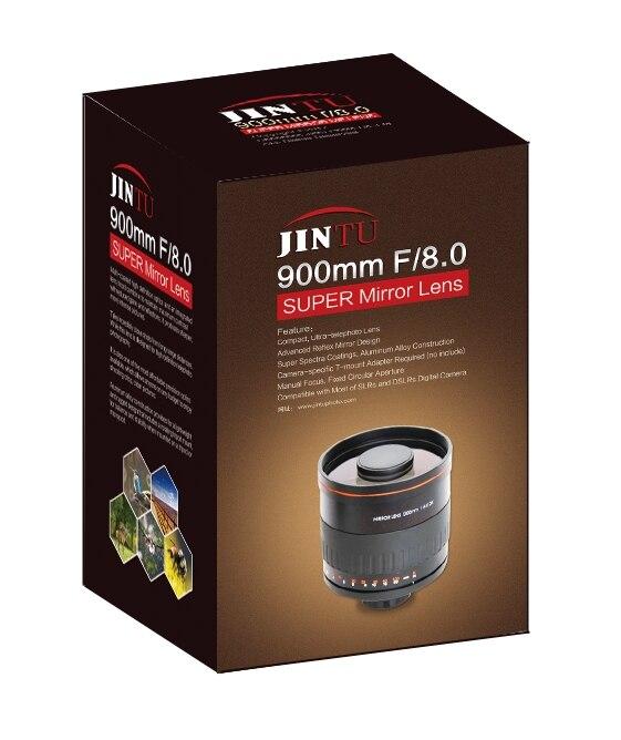 JINTU Super 900 millimetri f/8 Lente A Specchio con Custodia In Pelle per Fuji pellicola X Mount X-A5 X-A20 X-A10 x-A3 X-A2 X-A1 X-T2 X-H1 X-M1 X-Pro1JINTU Super 900 millimetri f/8 Lente A Specchio con Custodia In Pelle per Fuji pellicola X Mount X-A5 X-A20 X-A10 x-A3 X-A2 X-A1 X-T2 X-H1 X-M1 X-Pro1