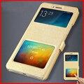 Funda de piel para xiaomi max/xiaomi mi max teléfono móvil con ventana de visualización del caso del tirón protector accesorios de protección envío gratis