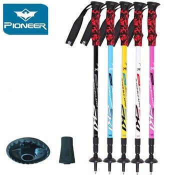 Pioneer 2019 basones postes de Trekking bastón de senderismo Alpenstock de aluminio...