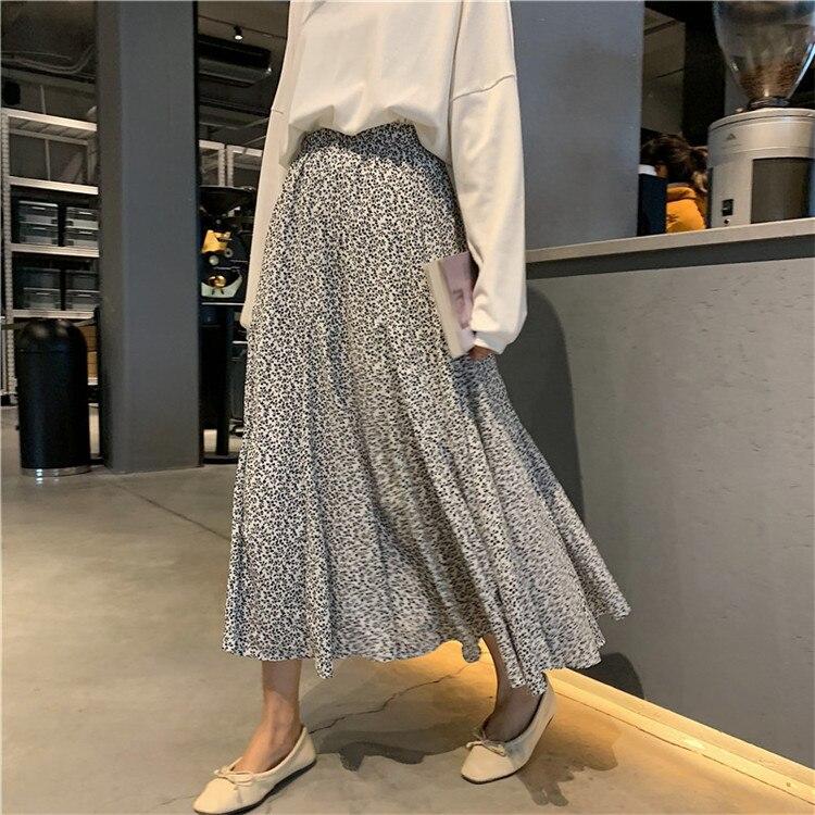 f4d92f83b7 top 8 most popular korean long skirt print ideas and get free ...