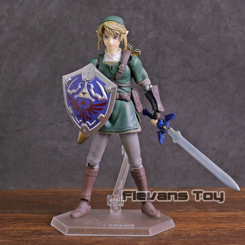 figma 320 Link Twilight Princess ver. DX Edition The Legend of Zelda Twilight Princess PVC Action Figure Collectible Model Toy