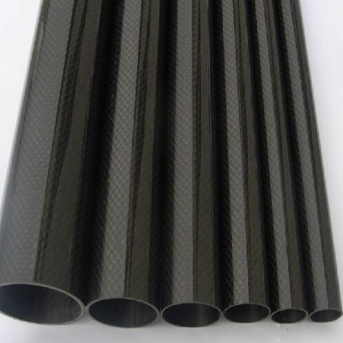 1pcs Roll Wrapped High Quality Carbon Fiber Tube 3K 10MM OD x 12MM ID X 500MM For Multicopter Use цены онлайн