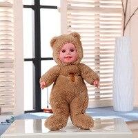 35cm Plush Sweet Cute Lovely Stuffed Kids Toys For Girls Birthday Christmas Gift Cute Doll Bear