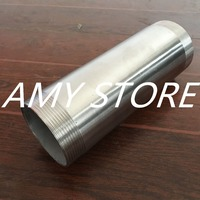 2 1/2Male x2 1/2Male Threaded Pipe Fitting 200MM Stainless Steel SS304 BSP NEW