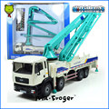 Mr.Froger Concrete Pump Truck Model Refined metal alloy Engineering Construction vehicles truck Decoration collection Toy