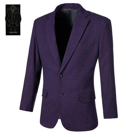Mistura de lã Terno dos Homens Jacket + Pants Personalização de Moda a Alta-grau Requintado Two-piece Suit Suporte