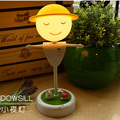 Creative Scarecrow LED touch induction lamp dimmer USB charging mobile power atmosphere Nightlight toy