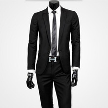 Tailored suits Men Suits Slim Fit men's wedding suits tuxedos made groom best man fashion party prom suits tuxedos(jacket+pants)