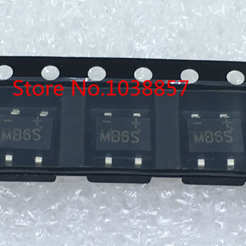 100PCS MB6S 0 5A 600V SOP4 in Connectors from Lights Lighting