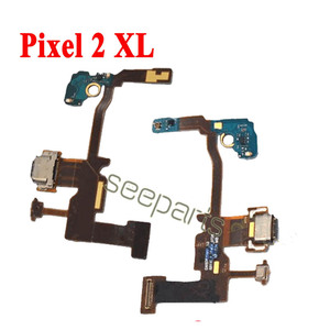 Image 5 - 100% اختبار لجوجل بكسل 2 بكسل 2XL حوض شحن USB ميناء الكابلات المرنة استبدال جوجل بكسل 3 4 XL USB شحن المجلس