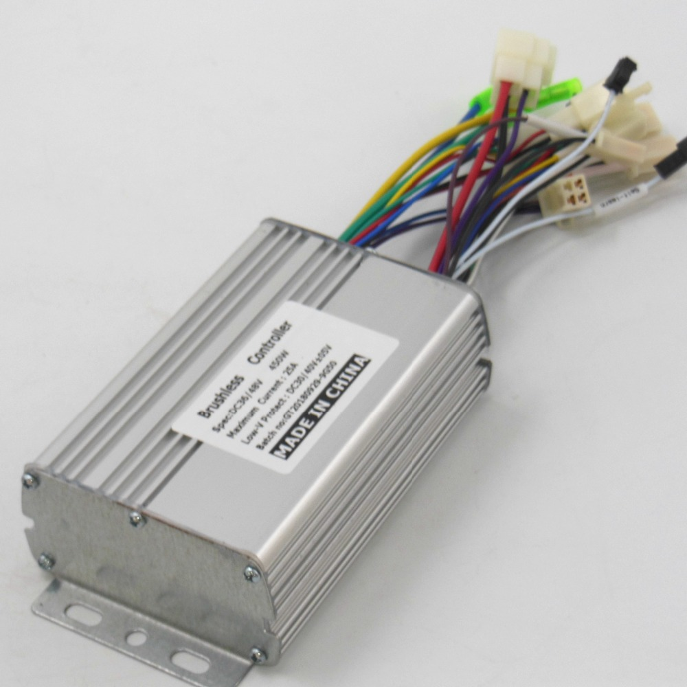 GREENTIME 36V/48V 450W BLDC Motor Controller E-bike Brushless Speed Controller