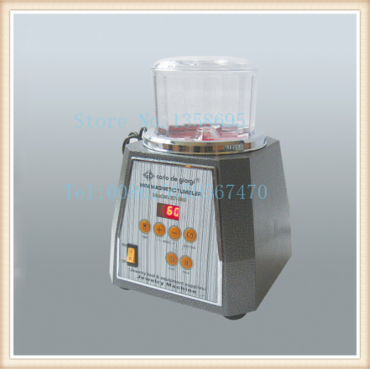 kt130 Magnetic Tumbler for jewelry surface polisher, Magnetic stainless Jewelry Making Supplies,gold tumbling machine