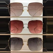 2019 Luxury Square Sunglasses Women Men Retro Brand designer