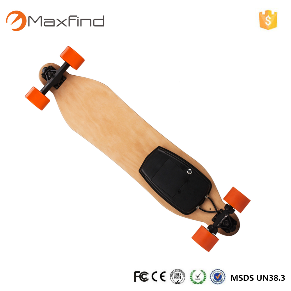maxfind Electric Skateboard World s Most Portable W Dual Motors Waterproof Electric
