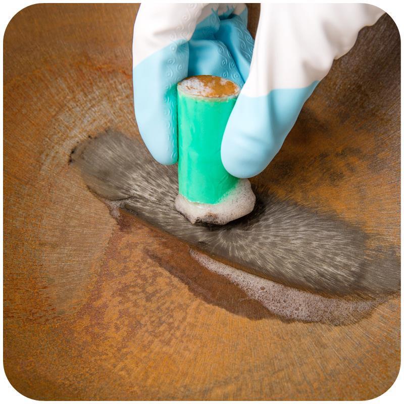 Vanzlife fregar cepillo de limpieza de descontaminación de acero inoxidable magi