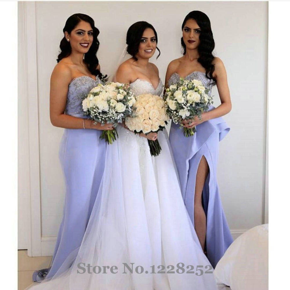 Popular lavender bridesmaid mermaid dresses buy cheap lavender lavender bridesmaid mermaid dresses ombrellifo Images