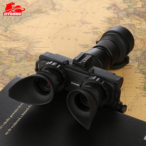 Image 4 - Militaire 2 Generatie HD Beeldvorming Nachtkijker Jacht Optics Helm Type IR Nacht Verrekijker Optionele Lens Aangepaste