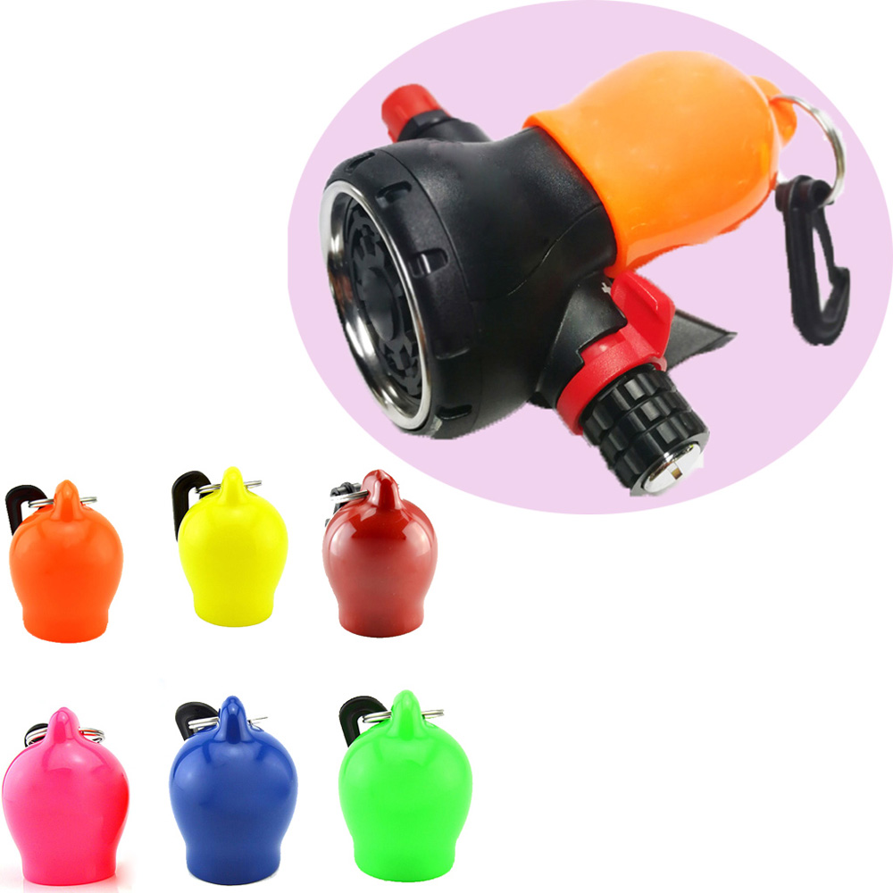 6 Color Scuba Dive Regulator Octopus Holder Mouthpiece Cover Scuba Diving Skum Ball Regulator