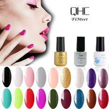 2016 Hot Sale QHC FiMeet Gel Nail Polish Long-Lasting Soak-off Nail Polish Gel Polish 6ml/Pcs 60 Colors Optional Free Shipping