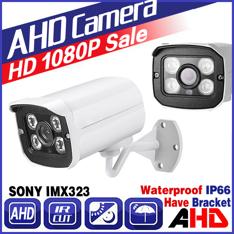 World Cup Hot Sale 720P/960P/1080P SONY IMX323 Full AHD CCTV Camera Digital 2mp Outdoor Waterproof Infrared Metal Bullet Vidicon